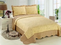 Покрывало Patchwork Silk Place Royalux 230x250 22-014A кофейный